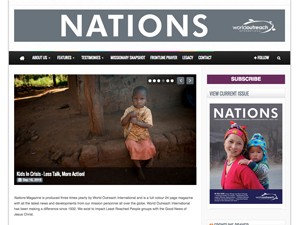 Nations Magazine Website